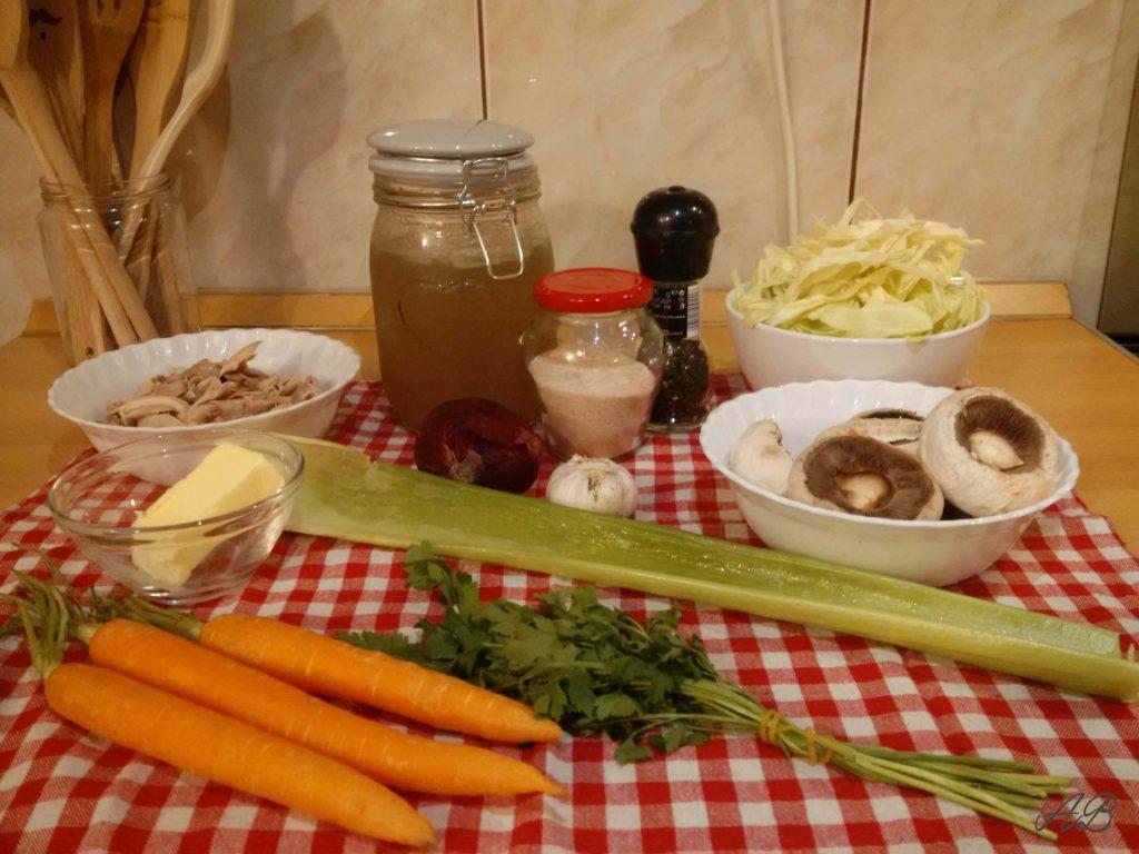Ciorba de pui ingrediente
