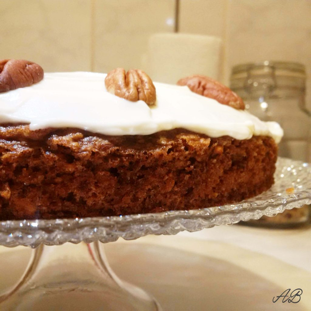 Tort de morcovi Carrot cake Ottolenghi