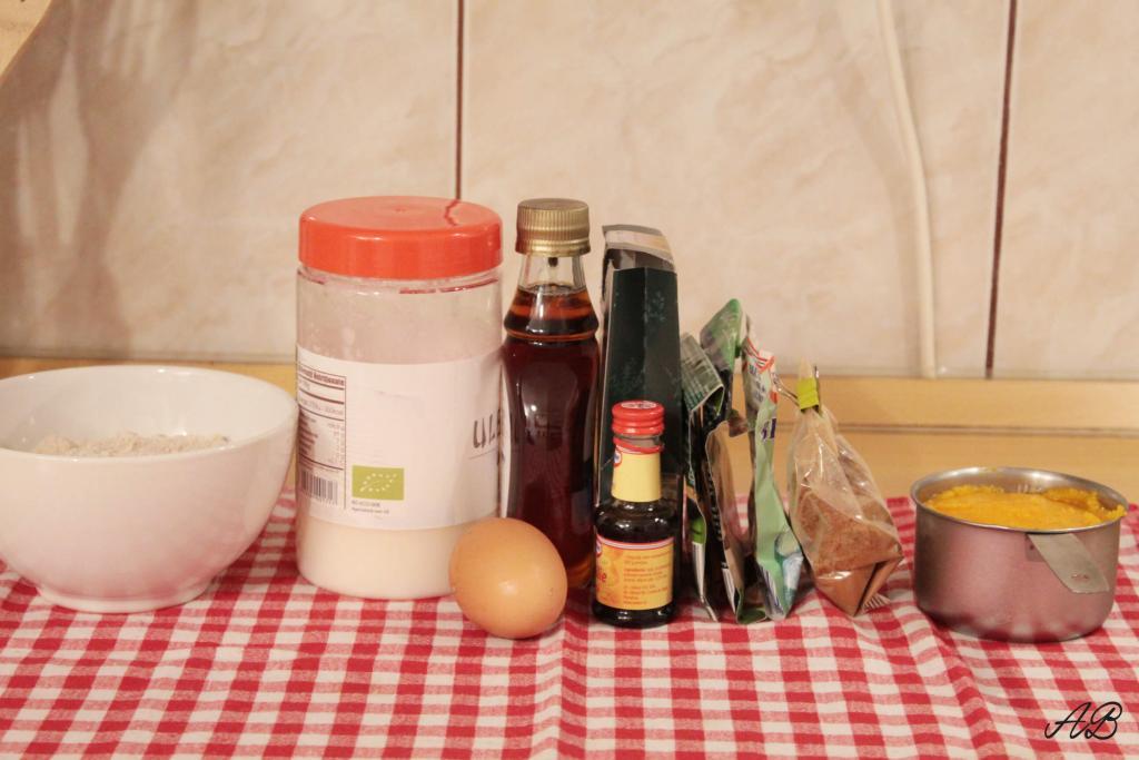 Prajitura sanatoasa cu dovleac ingrediente
