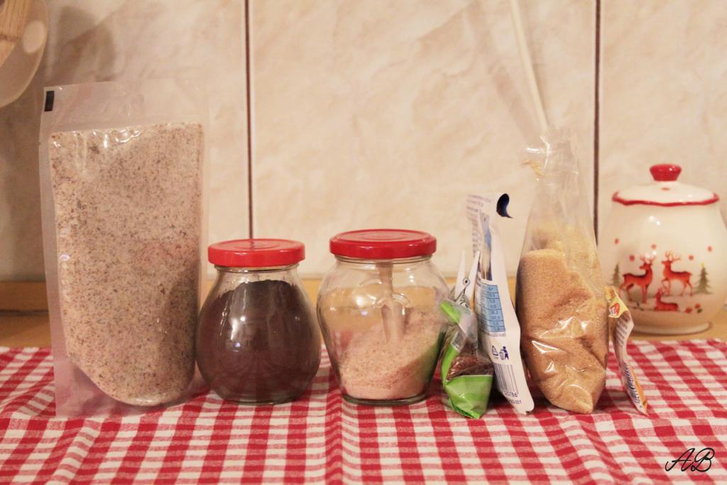 Biscuiti amaretti vegan fara gluten ingrediente