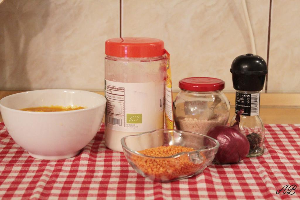 Supa crema de linte cu dovleac ingrediente