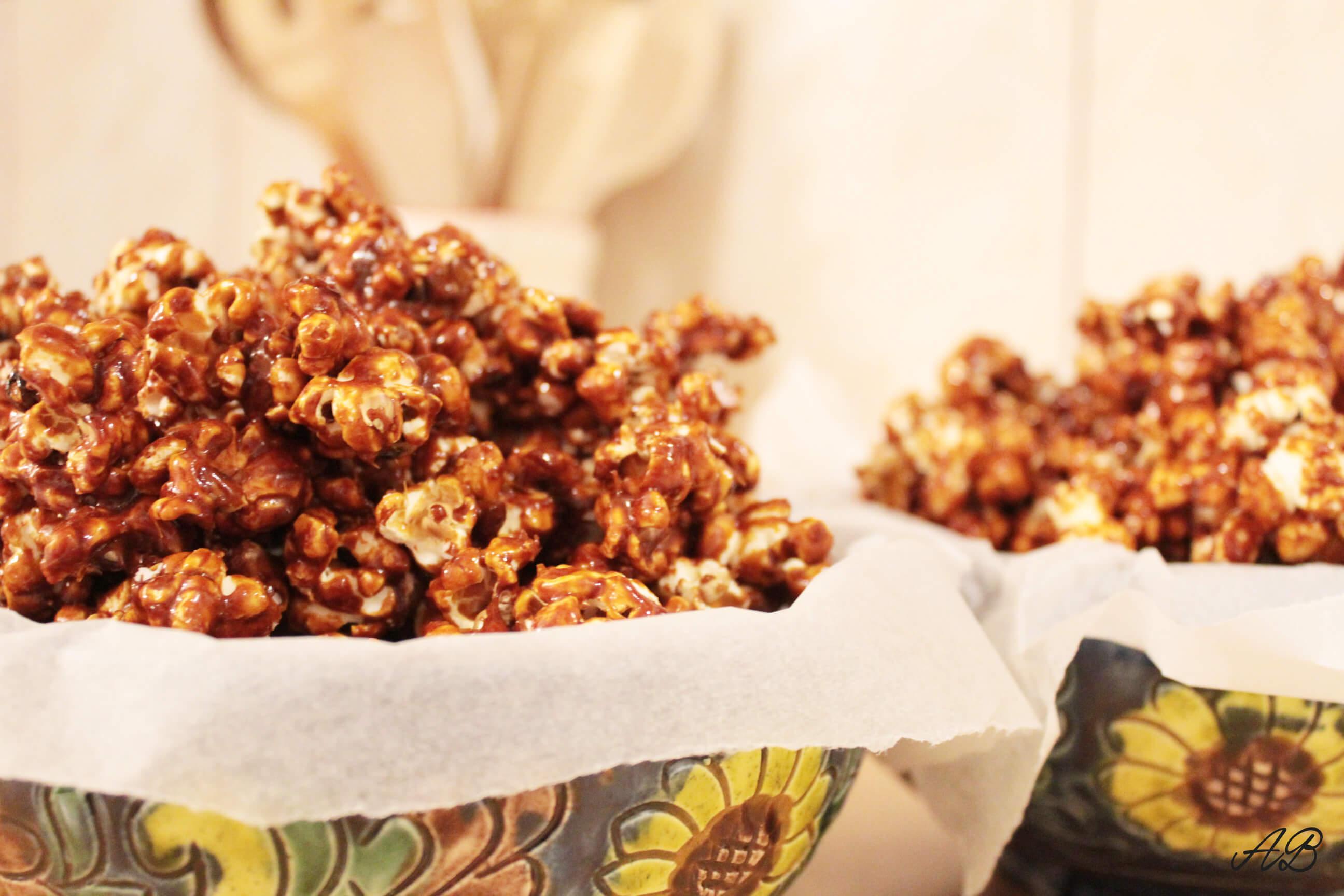 Popcorn cu caramel Gordon Ramsay