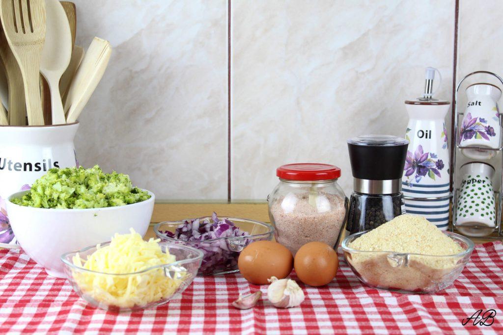 Chiftelute cu broccoli si cheddar ingrediente