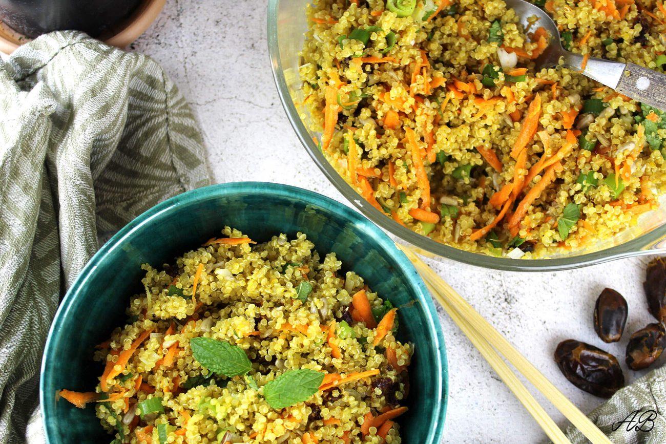 Salată de quinoa cu șofran