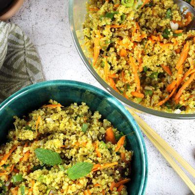 Salata de quinoa cu sofran