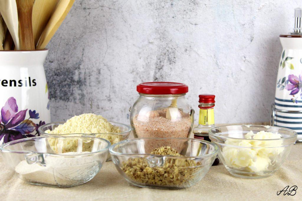 Cornulete vegane fara gluten ingrediente